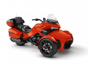CAN-AM SPYDER F3 LTD 2020 MAGMA RED METALLIC