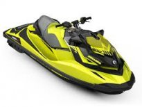 ВОДЕН ДЖЕТ BRP SEA-DOO RXP-X 300 2019 Neon Yellow\ Lava Grey