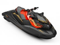ПРОМО!!! ВОДЕН ДЖЕТ BRP SEA-DOO RXP-X 300 2019 Eclipse black\Lava red