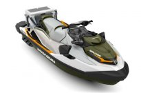 ПРОМО!!! ВОДЕН ДЖЕТ BRP SEA-DOO GTX FISH PRO 155 2019 WHITE/GREEN